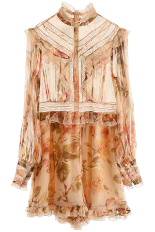 Zimmermann Resistance Lace Panel Playsuit