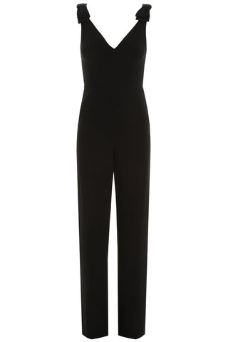 Zimmermann V-Neck Bow Detail Jumpsuit