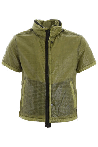 Stone Island Shadow Project Short Sleeve Down Jacket