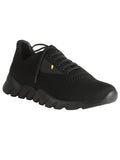 Fendi Black Monster Mesh Knit Sneakers