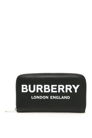 Burberry Logo Zipped Long Wallet
