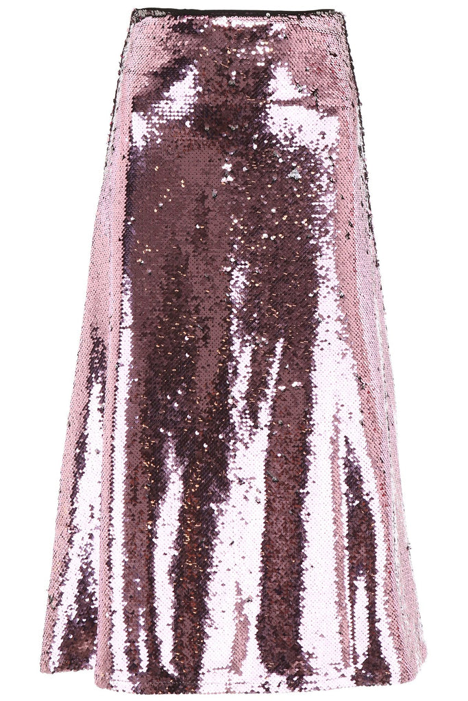 Vivetta Sequinned Flared Skirt
