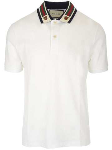 Gucci Feline Head Polo Shirt