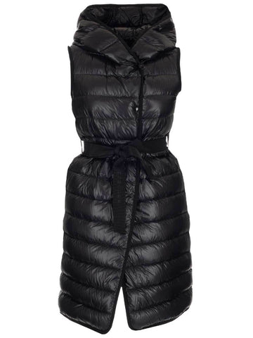 Moncler Long Hooded Sleeveless Vest