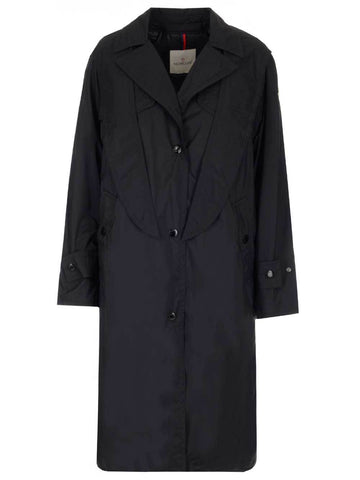 Moncler Padded Oversized Trench Coat