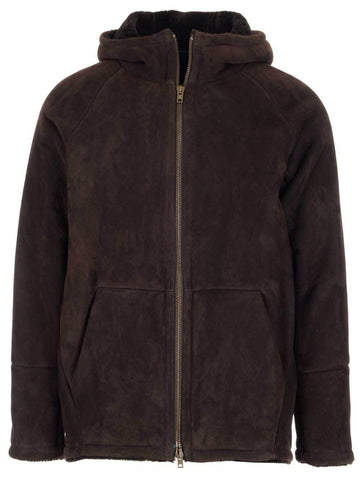 Salvatore Santoro Zip-Up Hooded Coat