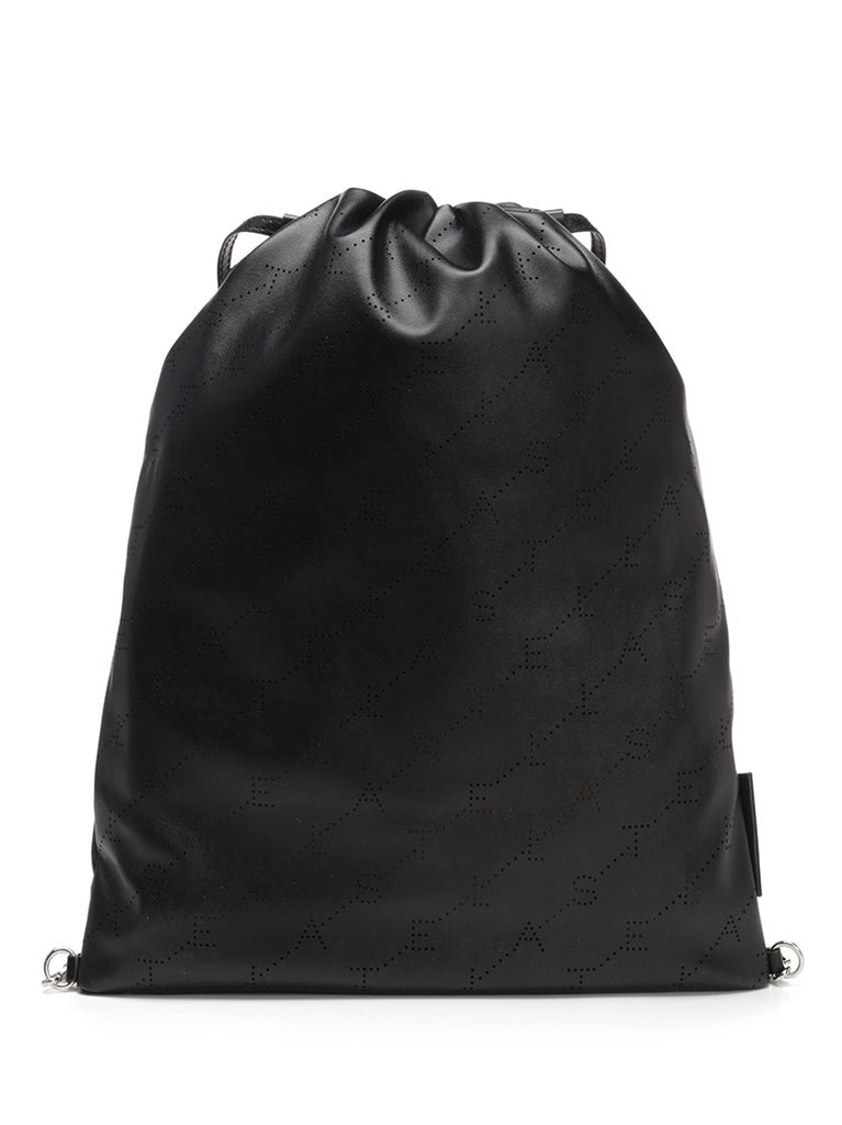 Stella McCartney Faux Leather Drawstring Backpack