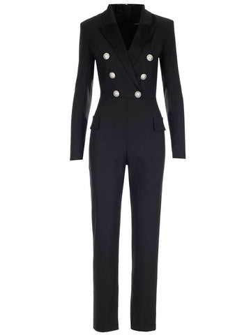 Balmain Double-Breasted Jumpsuit