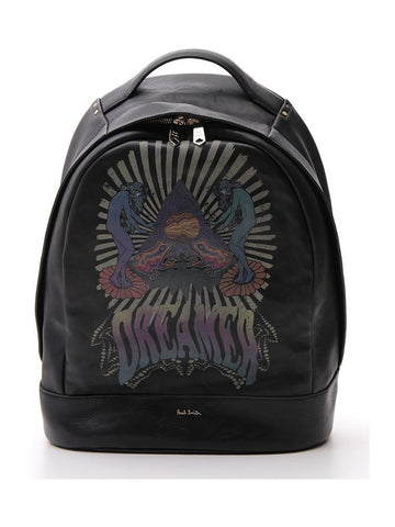 Paul Smith Dreamer Logo Print Backpack