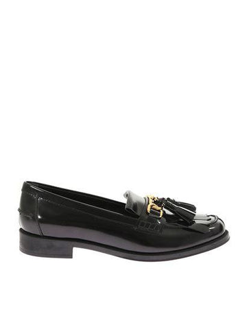 Tod's Chain Tassel Trim Loafers