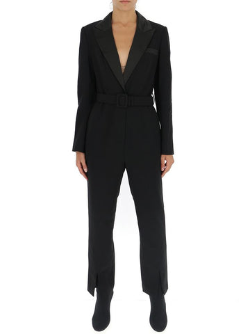 Self-Portrait Belted Jumpsuit
