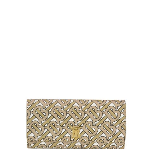 Burberry Monogram Print Continental Wallet