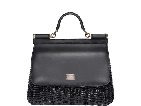 Dolce & Gabbana Medium Sicily Foldover Bag