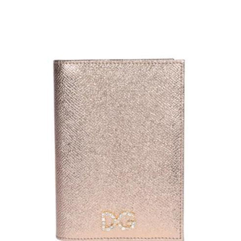 Dolce & Gabbana Logo Embellished Passport Holder