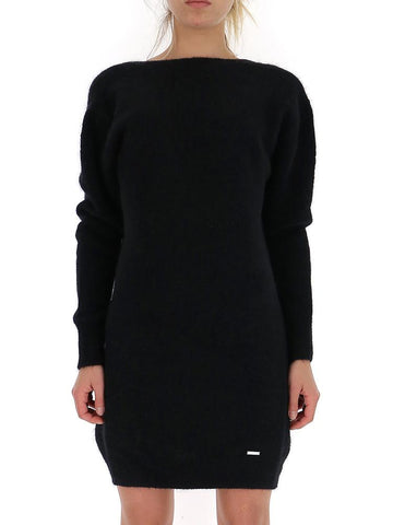 Dsquared2 V-Back Sweater Dress