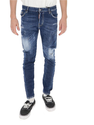 Dsquared2 Patch Distressed Jeans
