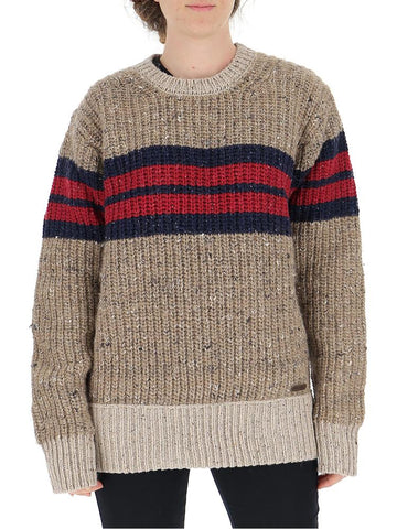 Dsquared2 Crewneck Knitted Sweater