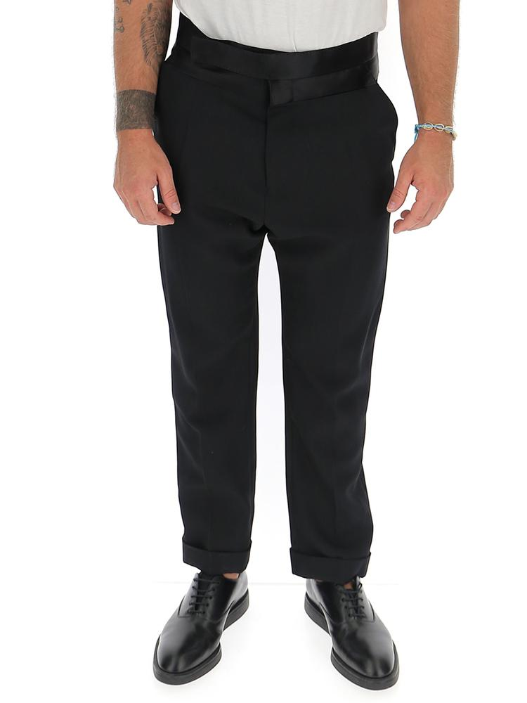 Haider Ackermann Turn-Up Hem Trousers
