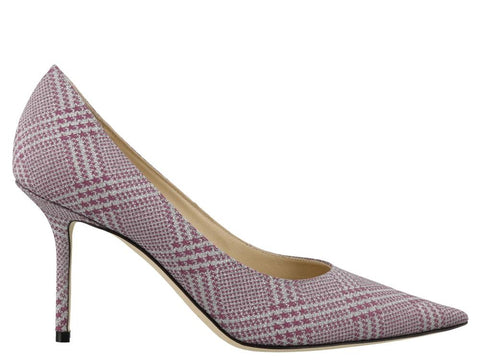 Jimmy Choo Love 85 Checked Pumps
