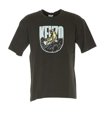 Kenzo Tiger Mountain Printed T-Shirt