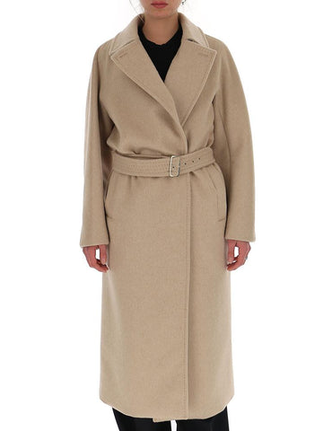 Max Mara Long Belted Trench Coat