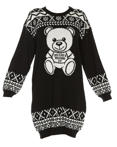 Moschino Teddy Sweater Dress