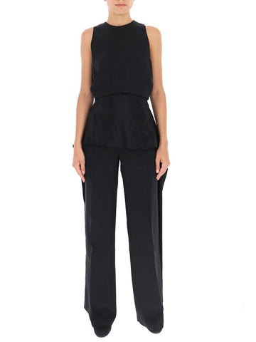 Stella McCartney Sleeveless Fringe Jumpsuit