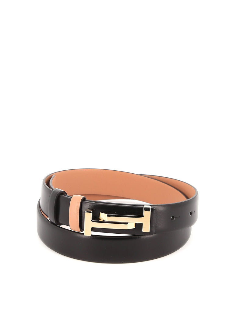 Tod's Double T Buckle Belt