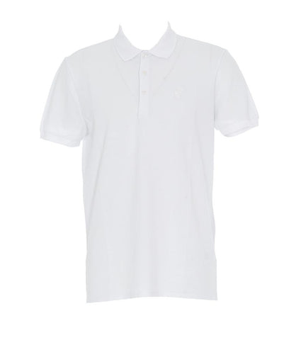 Versace Collection Logo Patch Polo Shirt