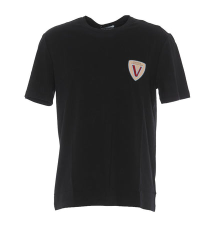 Versace Collection Embroidered T-Shirt