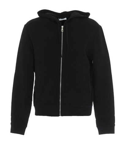 Versace Collection Back Logo Zipped Hoodie