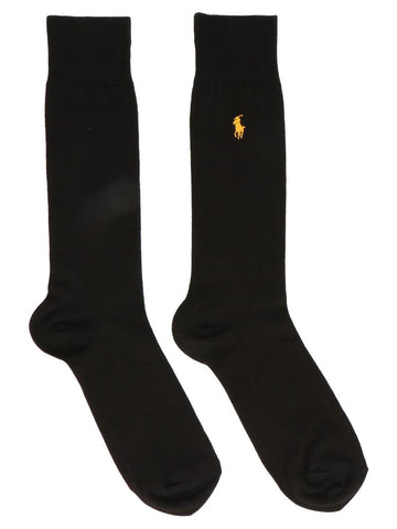 Polo Ralph Lauren Box Of Three Branded Socks