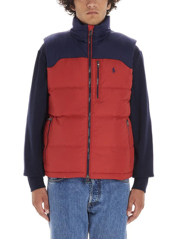 Polo Ralph Lauren Logo Embroidered Down Gilet
