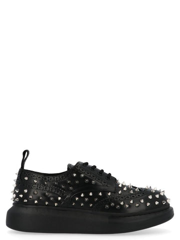 Alexander McQueen Studded Hybrid Lace-Up Shoes