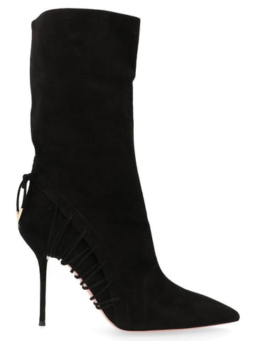 Aquazzura Stiletto Heel Ankle Boots