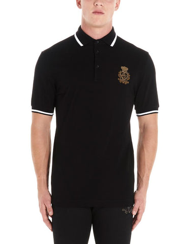 Dolce & Gabbana Embroidered Logo Polo Shirt