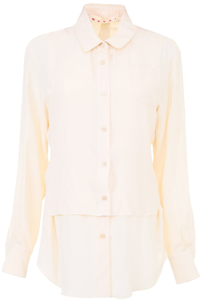 Marni Silk Blend Shirt Top