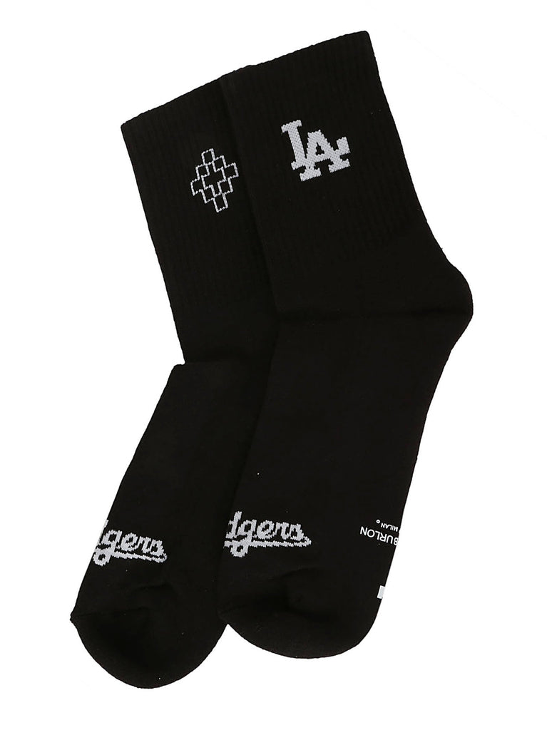 Marcelo Burlon County Of Milan LA Dodgers Socks