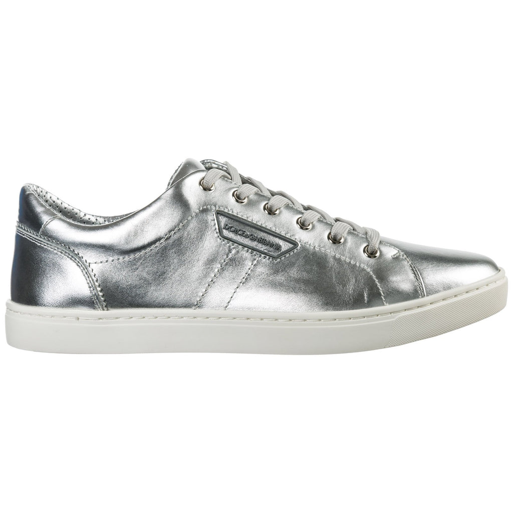Dolce & Gabbana London Metallic Sneakers
