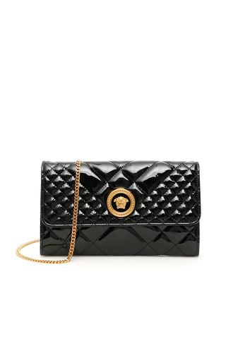 Versace Medusa Quilted Clutch Bag