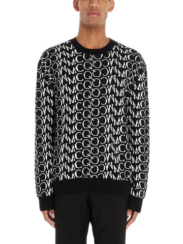 McQ Alexander McQueen All Over Logo Sweater