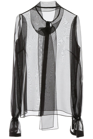 Dolce & Gabbana See Through Shirt