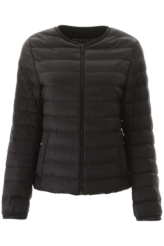 Weekend Max Mara Zipped Puffer Jacket