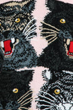 Gucci Embroidered Motif Knit Sweater