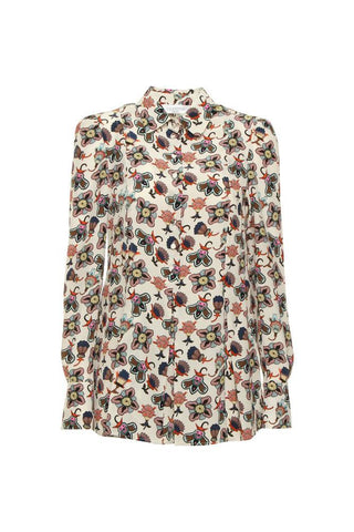 Valentino Floral Printed Blouse