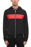 Givenchy Stripe Logo Zip-Up Jacket
