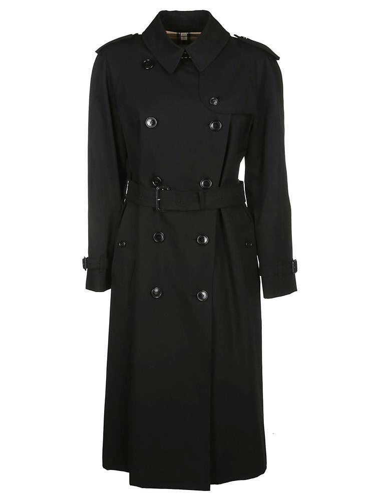 Burberry Gabardine Double Breasted Trench Coat