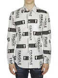 Maison Margiela Graphic Printed Shirt