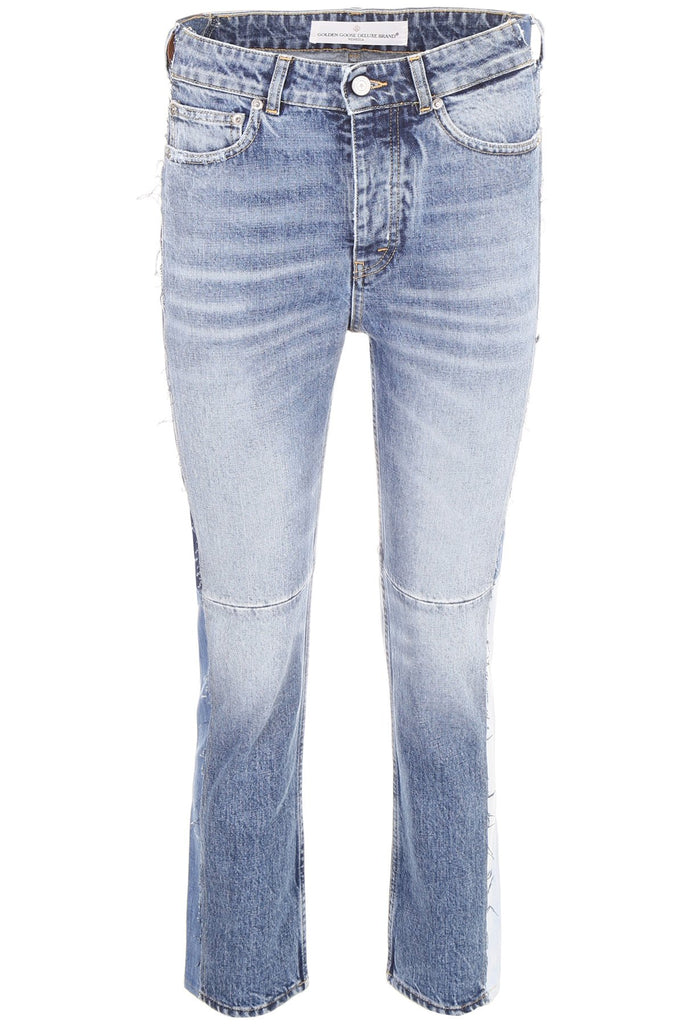 Golden Goose Deluxe Brand Cropped Denim Jeans
