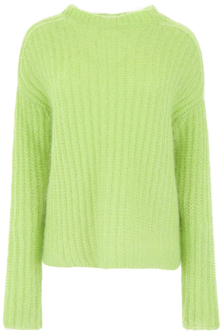Marni Ribbed Crew Neck Pullover Knit
